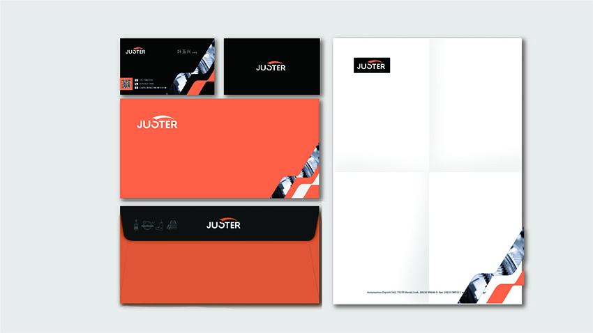 Juster VI设计之信封、信纸设计