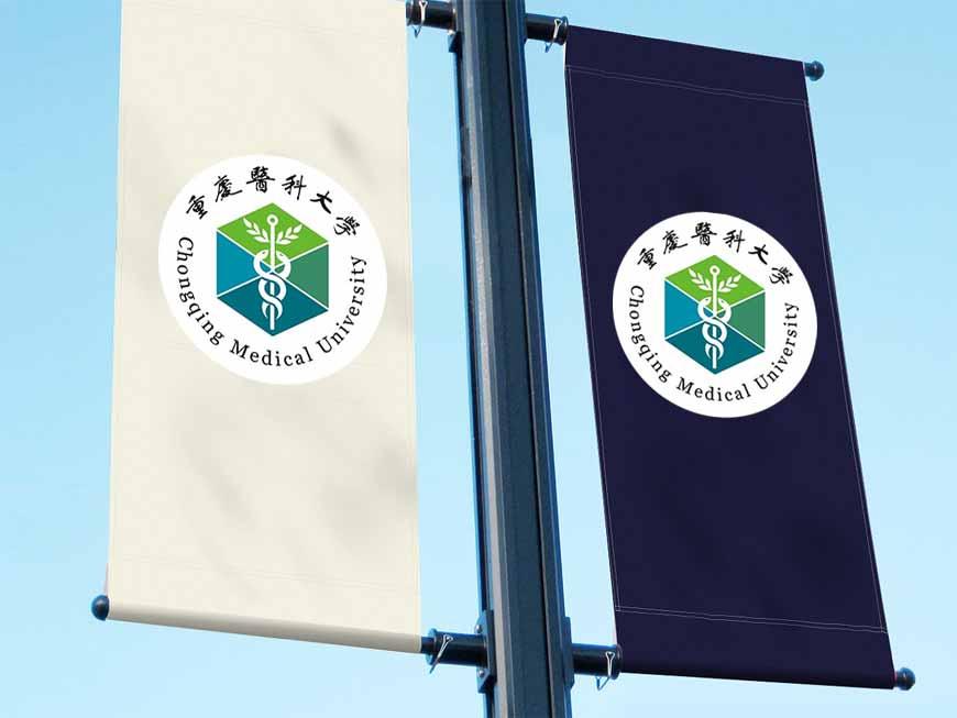 重庆医科大学校徽的取道西式风格之路-2