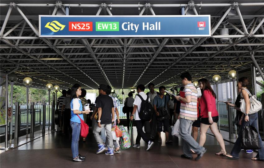 新加坡地铁LOGO欣赏