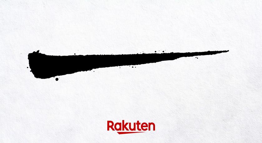 新款日本乐天个性logo设计和字体设计欣赏-5