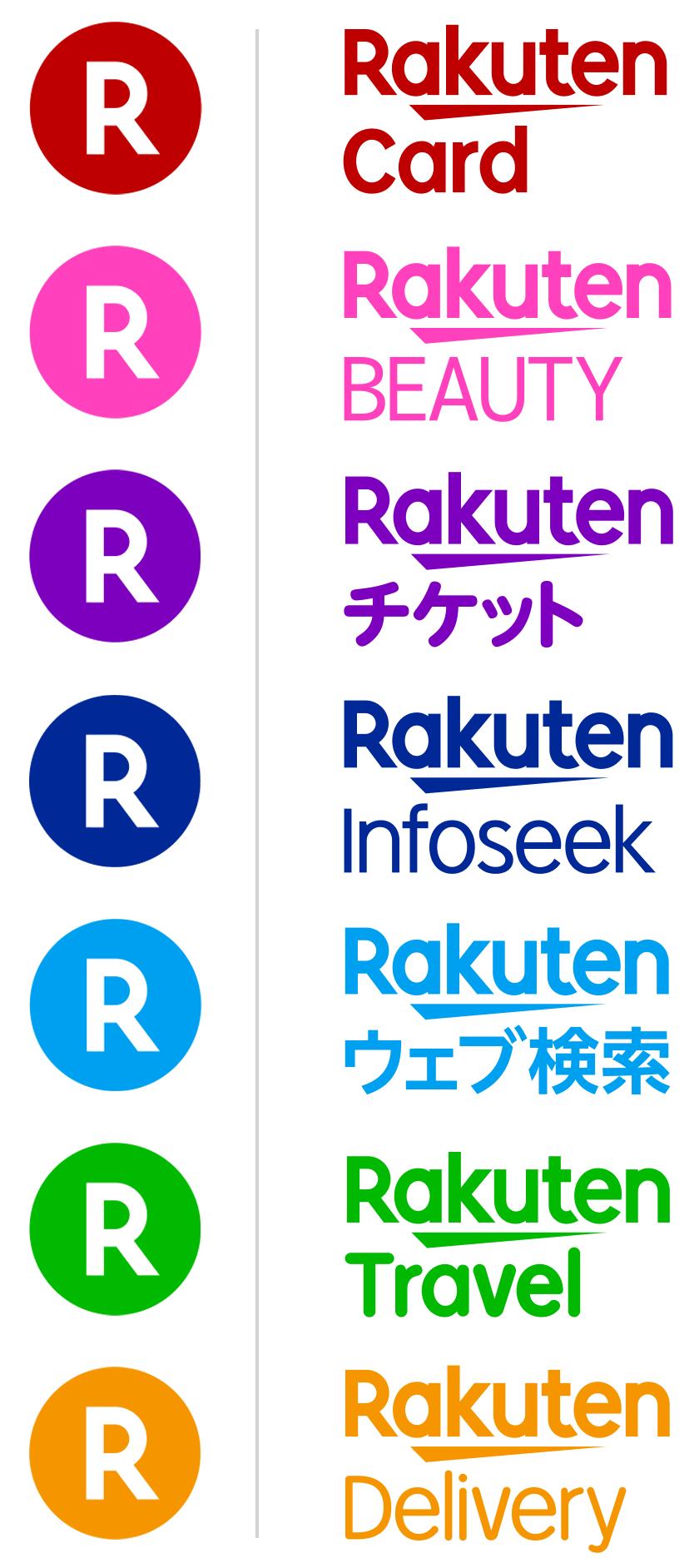 新款日本乐天个性logo设计和字体设计欣赏-7