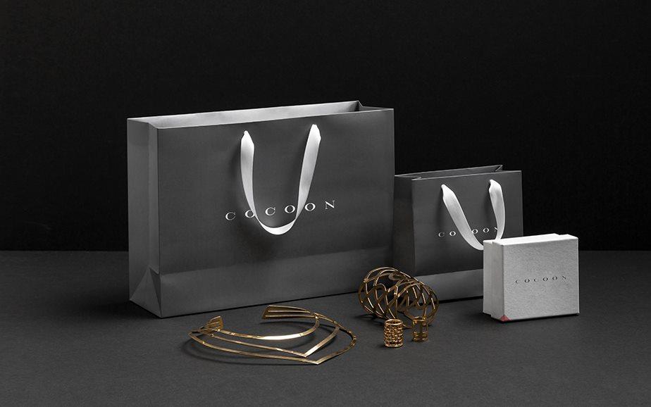 墨西哥Cocoon珠宝VI设计和LOGO欣赏-1
