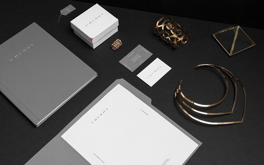 墨西哥Cocoon珠宝VI设计和LOGO欣赏-5