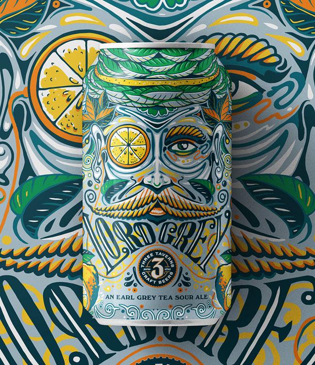 Three Taverns乳酸发酵啤酒包装礼盒设计制作加工定制生产厂家