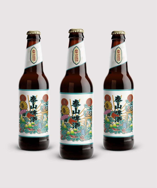 民国风啤酒包装礼品盒设计订制作加工定制生产厂家