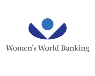 世界妇女银行标志logo