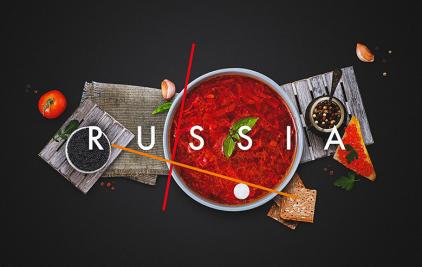 俄罗斯国家旅游品牌VI设计